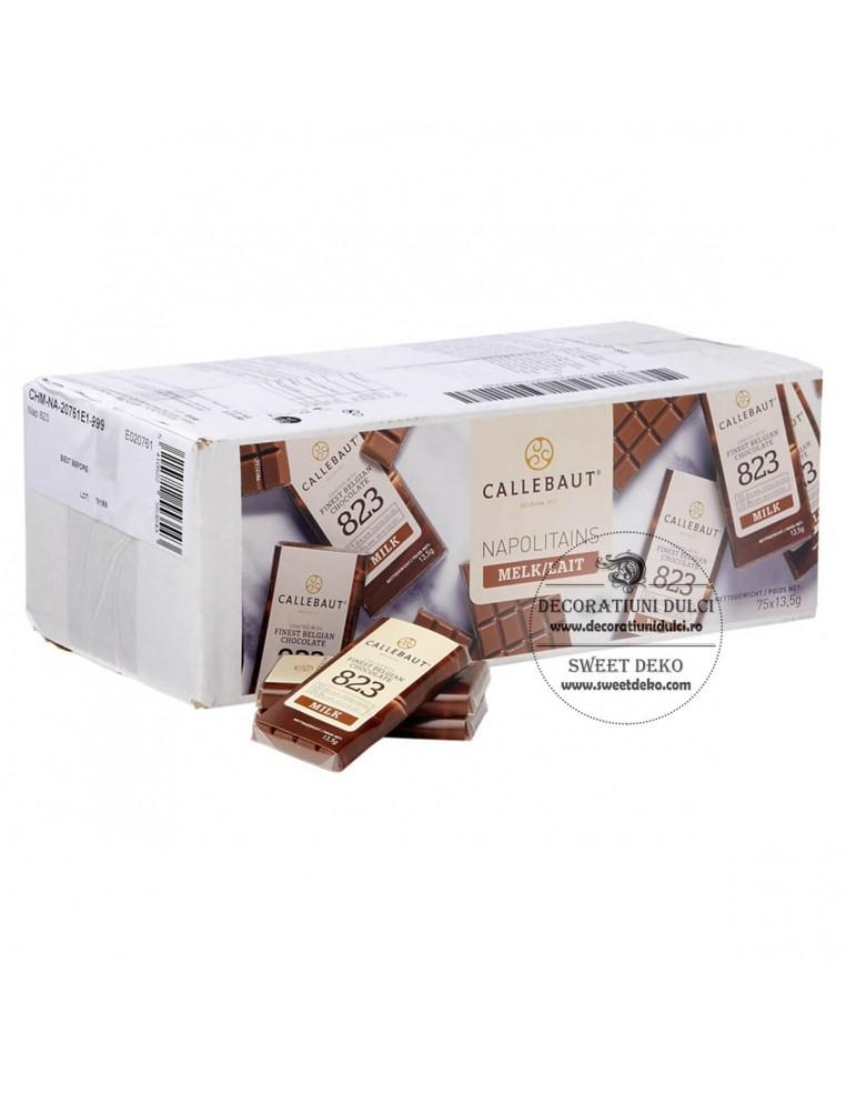 Mini tableta ciocolata cu lapte,...