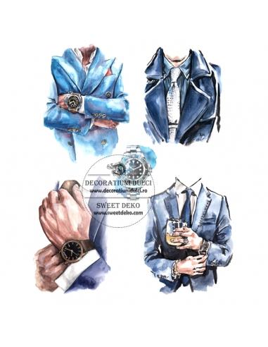 Imagine comestibila Men In A Suit