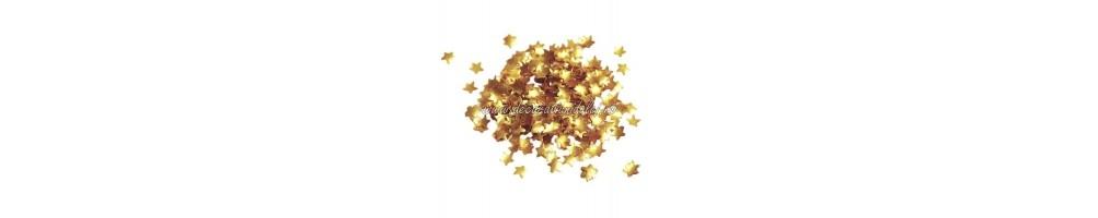 Sclipici, glitter comestibil, foite de aur