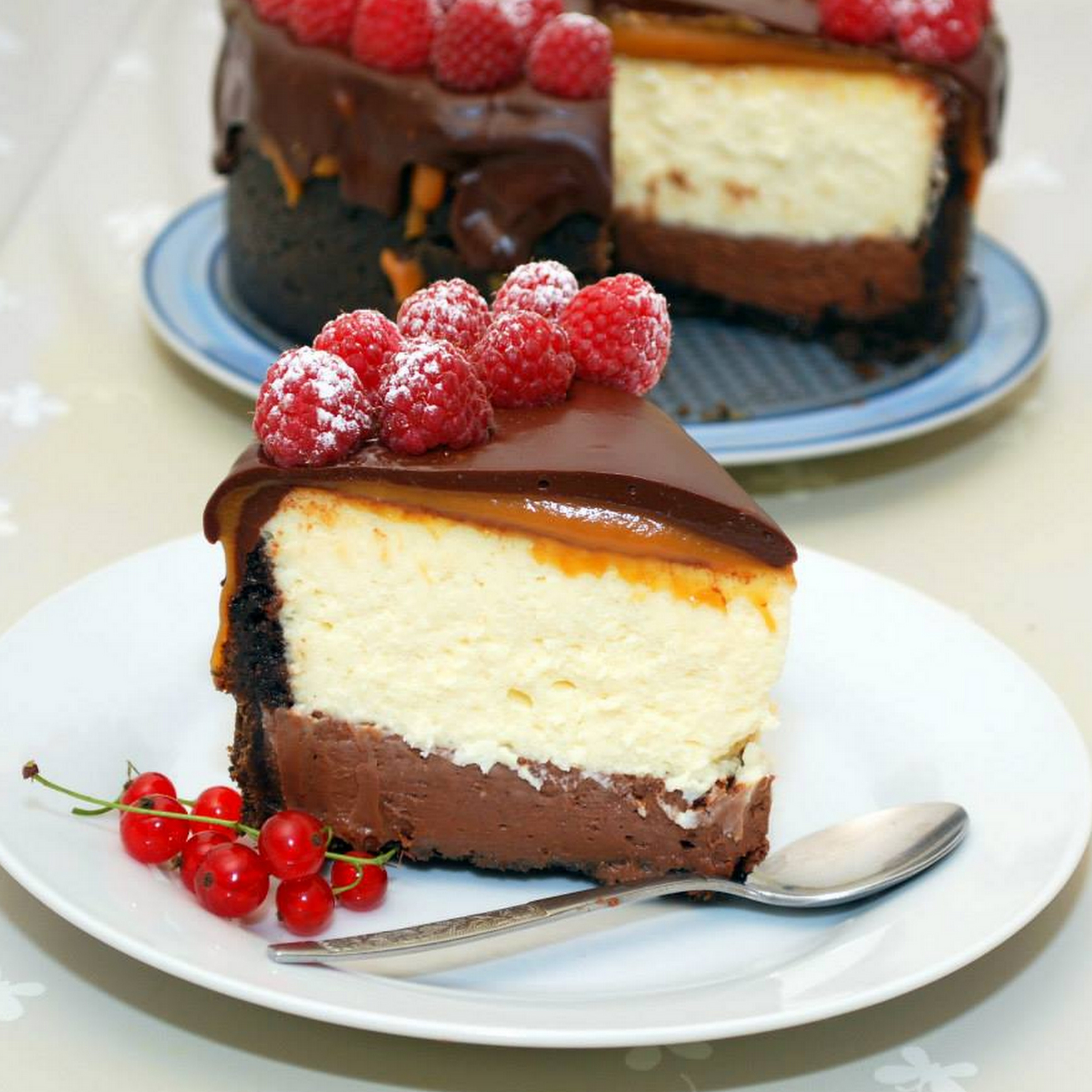 Cheesecakes cu ciocolata